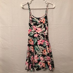 Forever21 Tropical Flare Dress